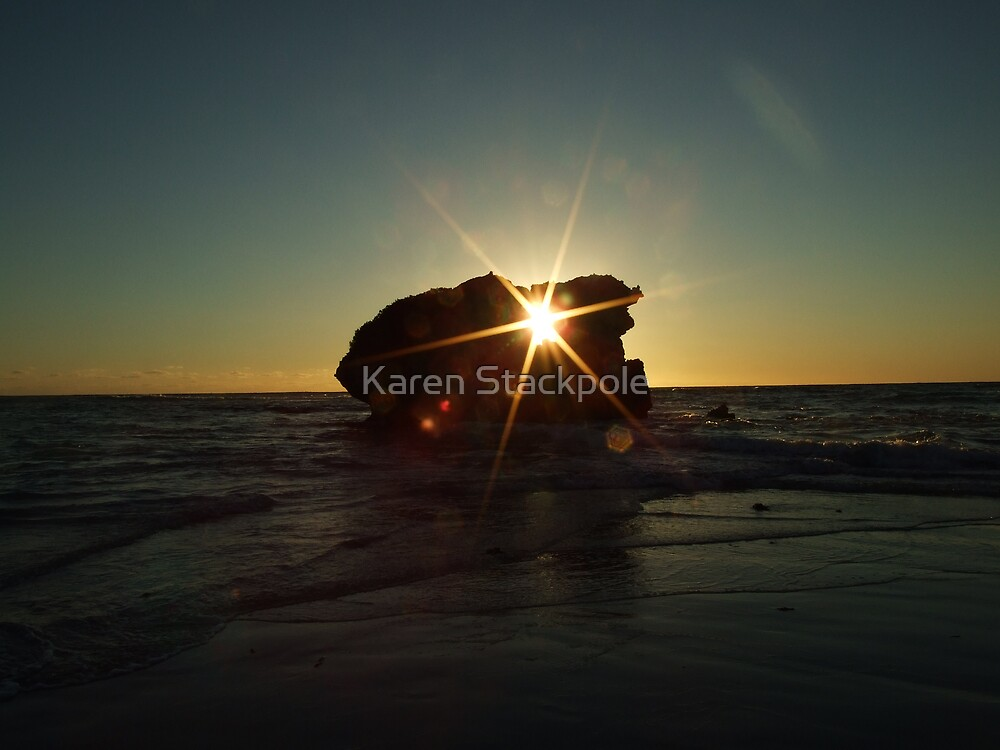 Rock Hole at Sunset Time (words - see link) by Karen Stackpole