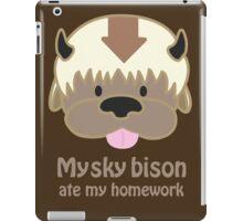 My Sky Bison Ate my Homework iPad Case/Skin