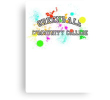 Greendale Community College - Paintball Canvas Print