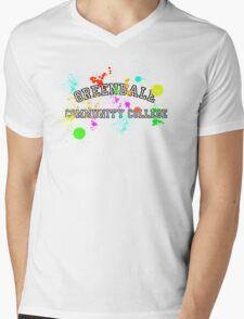 Greendale Community College - Paintball Mens V-Neck T-Shirt