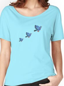 Flying Pigeons Women's Relaxed Fit T-Shirt