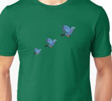 Flying Pigeons Unisex T-Shirt