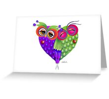 Owl´s love Greeting Card