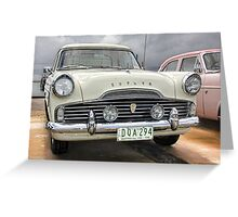 Ford Zephyr Ute…front Greeting Card