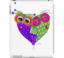 Owl´s love iPad Case/Skin
