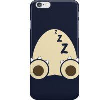 Being Snorlax iPhone Case/Skin