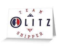 Team Olitz Shipper - Scandal, Olivia Pope Greeting Card