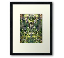 Northcote Community Gardens 12 Framed Print