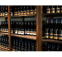 Wine Bottles Photographic Print