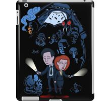 X-Files Mulder and Scully iPad Case/Skin