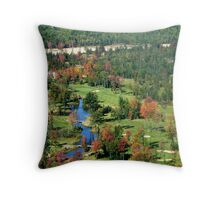 Algonquin Park Golf Course Throw Pillow