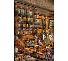 The Doctors Desk Photographic Print