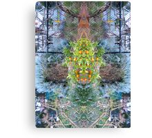 Northcote Community Gardens  Fantasy 11 Canvas Print
