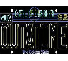 OUTATIME Photographic Print