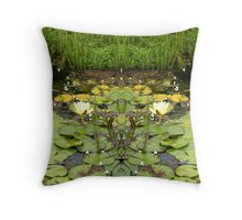 Northcote Community Gardens  Fantasy 10 Throw Pillow