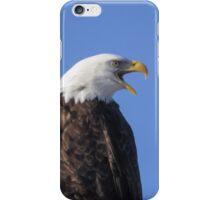 Bald Eagle Calling iPhone Case/Skin