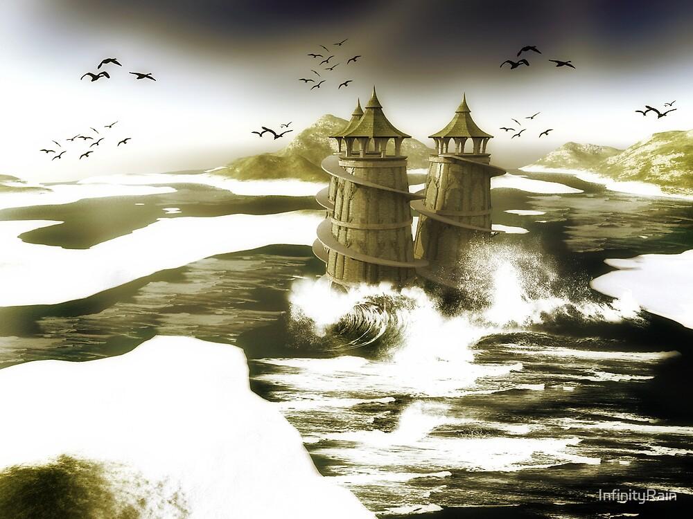 Tumultuous Sea by InfinityRain