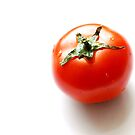 Solitary Tomato by travellingtwo