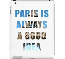 Eiffel Tower - Paris, France iPad Case/Skin