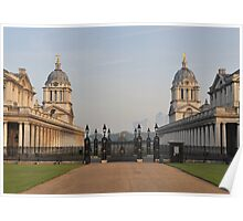 Royal Naval College - Greenwich Poster