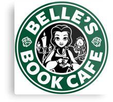 Belle's Book Cafe Metal Print