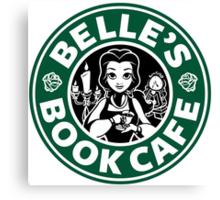 Belle's Book Cafe Canvas Print