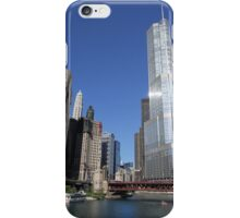 Chicago River at sunrise iPhone Case/Skin