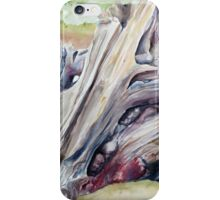 Driftwood Painting Watercolor Art iPhone Case/Skin