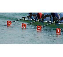 Swiss timing Photographic Print