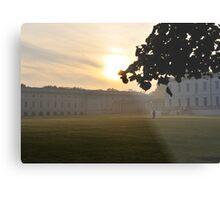 Greenwich Mist Metal Print