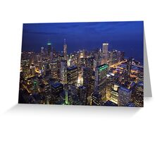 Chicago sky deck Greeting Card