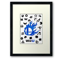 Smash Wii U Framed Print