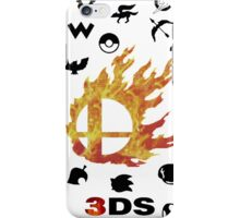 Smash 3DS iPhone Case/Skin