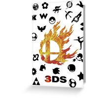 Smash 3DS Greeting Card