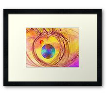 Another World-Available As Art Prints-Mugs,Cases,Duvets,T Shirts,Stickers,etc Framed Print