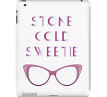 Stone Cold Sweetie I iPad Case/Skin