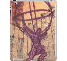 atlas holding the world iPad Case/Skin