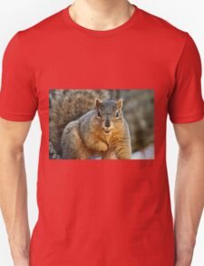 I Don't want to smile too wide...I'll drop my nut! Unisex T-Shirt