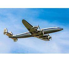 Lockheed L-1049F Super Constellation HB-RSC Photographic Print