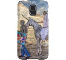 The triumphant return of Lady Art Samsung Galaxy Case/Skin