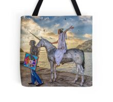 The triumphant return of Lady Art Tote Bag