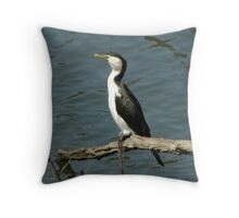 Watching and waiting... Throw Pillow