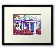 House On Shutter Street-Available As Art Prints-Mugs,Cases,Duvets,T Shirts,Stickers,etc Framed Print