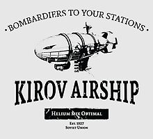 Kirov Airship by moombax