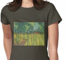 hanging vines Womens Fitted T-Shirt