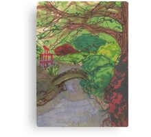 bk botanic garden bridge Canvas Print