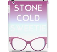 Stone Cold Sweetie II iPad Case/Skin
