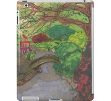 bk botanic garden bridge iPad Case/Skin