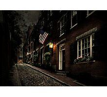 Little Acorn Street Photographic Print