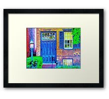 Toronto Life-Mackenzie House Museum-Available As Art Prints-Mugs,Cases,Duvets,T Shirts,Stickers,etc Framed Print